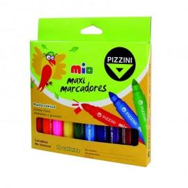 marcadores-escolares-pizzini-mio-maxi-x10