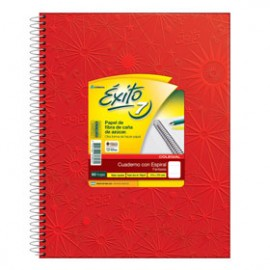 Cuaderno E7 Rojo