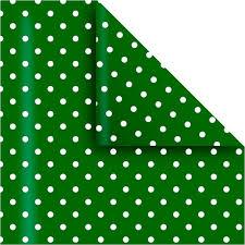 Papel Forrar Lunares Verde