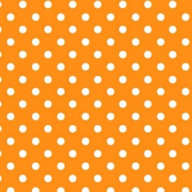 Papel Forrar Lunares Naranja