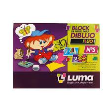 Block Nro 5 Fluo Luma