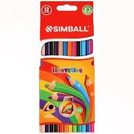 lapices-colores-simball-innovation-largos-x12