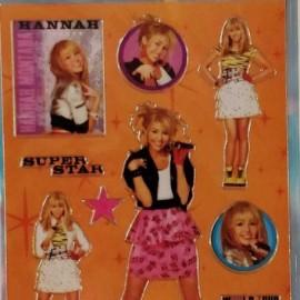 plancha-stickers-hanna-montana-12x6cm